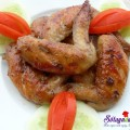 thịt luộc, cách làm cánh gà chiên mắm