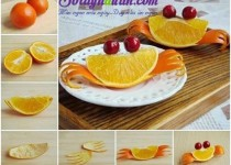 Bày đĩa cam đẹp – cả nhà thích mê