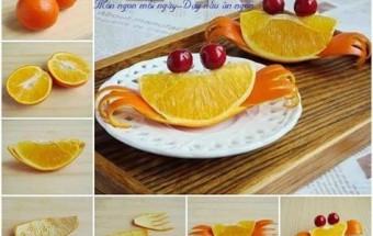 Nấu ăn món ngon mỗi ngày với Tăm, bày đĩa cam đẹp - cả nhà thích mê