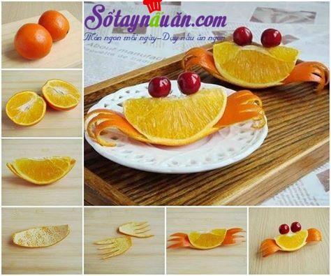 bày đĩa cam đẹp - cả nhà thích mê
