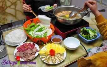 Nấu ăn món ngon mỗi ngày với Dứa, bò nhúng dấm cho ngày cuối tuần
