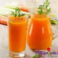 rượu táo nóng, sinh tố chanh cần tây củ quả