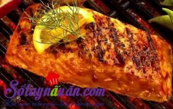 Nấu ăn món ngon mỗi ngày với Gừng băm, Cá chim nướng cay
