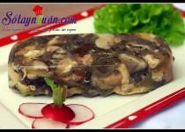 Thịt nấu đông – món ăn cổ truyền của người Việt