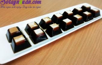 Nấu ăn món ngon mỗi ngày với Bột agar, Cách làm thạch phô mai cà phê cực hot