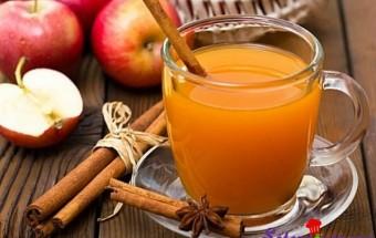 Nấu ăn món ngon mỗi ngày với Cam, Rượu táo ấm áp ngày đông