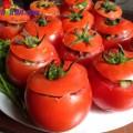 măng xào nấm hương, thịt đúc cà chua hấp