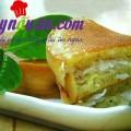 cach che bien cui buoi de nau che, Bánh bò dừa nướng thơm ngon hấp dẫn