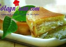 Bánh bò dừa nướng thơm ngon hấp dẫn