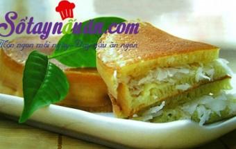 , Bánh bò dừa nướng thơm ngon hấp dẫn