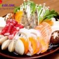 lẩu thái, nguyên liệu lẩu nấm hải sản