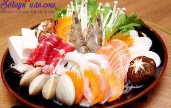 Nấu ăn món ngon mỗi ngày với Dứa, nguyên liệu lẩu nấm hải sản