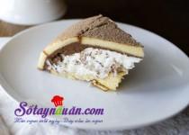 Bánh chocolate hạnh nhân ngọt ngào cho ngày đông thêm ấm áp
