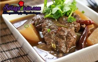Nấu ăn món ngon mỗi ngày với Đinh hương, bò hầm cay