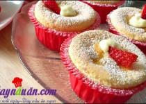 Cách làm Cupcake Hokkaido xốp mềm đầy quyến rũ