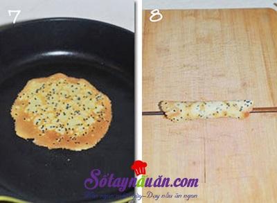 Bánh quế cuộn giòn tan