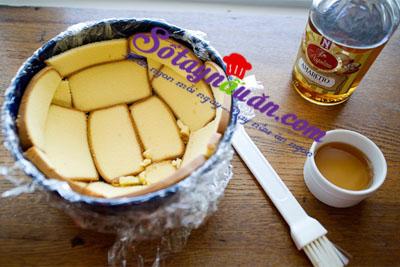 làm bánh chocolate  hạnh nhân1