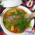 canh hến,