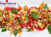 Salad cà chua ngô ngọt