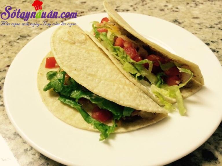 cách làm bánh Tacos siêu ngon tại nhà