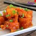 cá hấp, tôm chiên giòn sốt chua ngọt 10