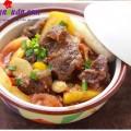 nấu canh chua ngao, bắp bò kho dứa 4