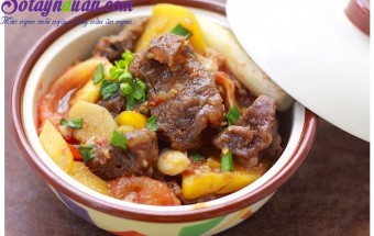 Nấu ăn món ngon mỗi ngày với Dứa, bắp bò kho dứa 4
