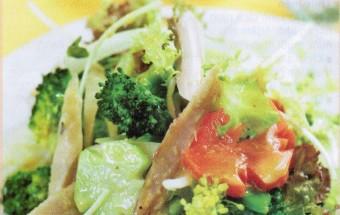 món ăn miền nam, bông cải trộn gà xé