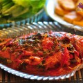 cách nấu canh riêu cua, cá sốt cà chua