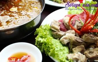 Nấu ăn món ngon mỗi ngày với Nấm, cách nấu lẩu sườn sụn
