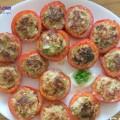 bí đỏ hầm xương, cà chua dồn thịt 9