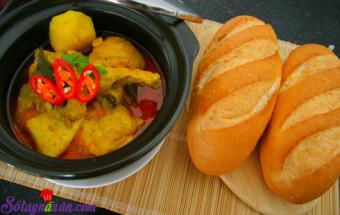 Nấu ăn món ngon mỗi ngày với Ớt sừng, chân gà nấu cà ri