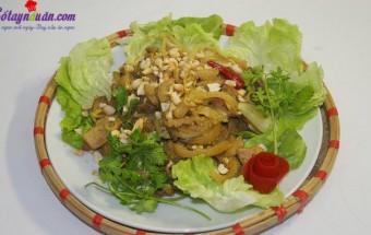 Nấu ăn món ngon mỗi ngày với Rau mùi, chân giò xào lăn 5