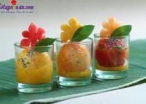 Cocktail trái cây kẹo vụn – Đồ uống giải khát mùa hè nóng bức
