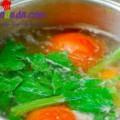 Hướng dẫn làm mực nướng sốt chua cay ngon tuyệt, Gà hầm khoai tây 3