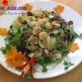 salad tôm,