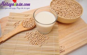 mẹo vặt trong cuộc sống, Làm sữa đậu nành ngon đúng cách