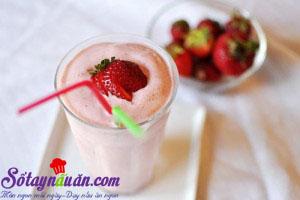 Nấu ăn món ngon mỗi ngày với Sữa đặc, sinh-to-dau-tay3jpg