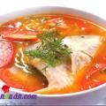 canh cải cúc nấu thịt, Bí quyết nấu canh cá chua điêu hồng ngon miễn chê