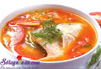 Bí quyết nấu canh cá chua điêu hồng ngon miễn chê