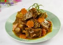 Bò kho nước dừa-thơm ngon hấp dẫn