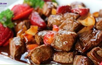 Nấu ăn món ngon mỗi ngày với Thịt bò, cách làm bò lúc lắc 1