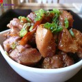 bí quyết làm sườn heo om khoai tây ngon, cách làm gà kho gừng 7