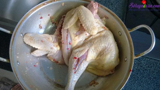 cách làm gà nướng muối 2