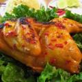 gà nướng, cách làm gà nướng muối 4