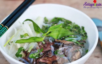 Món ăn ngon ngày Tết, Cách làm miến nầu lòng gà 8