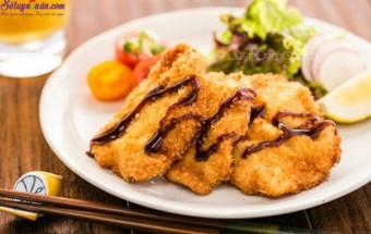 Nấu ăn món ngon mỗi ngày với Bột chiên xù, cách làm ức gà chiên xù 10