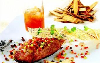 Nấu ăn món ngon mỗi ngày với Măng tây, cách làm ức vịt nướng xốt canh muối