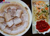 Cách luộc thịt lợn ngon, giòn