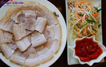 Nấu ăn món ngon mỗi ngày với Bột canh, cách luộc thịt ngon